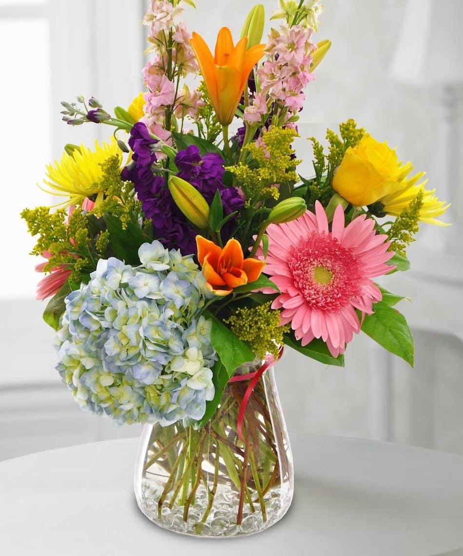 Wildflower Garden Vase