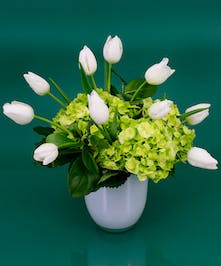 St. Patrick's Day Tulips - Same Day Delivery Peabody, MA - Currans Flowers