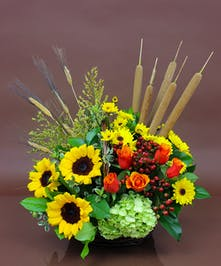 Autumn Traditions Basket  - Same Day Delivery, Danvers MA