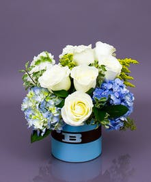 New baby flowers gifts same day delivery currans flowers baby boy ceramic same day delivery to danvers beverly ma negle Gallery