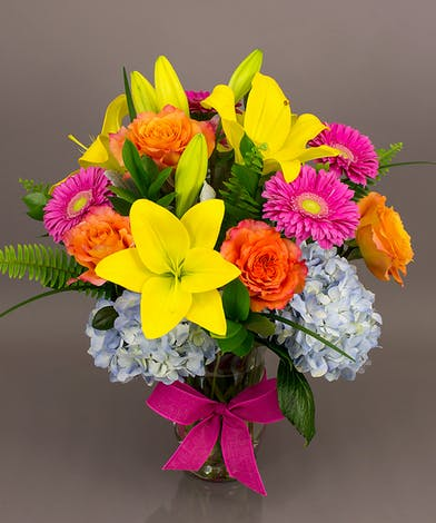 Bright Garden Bouquet