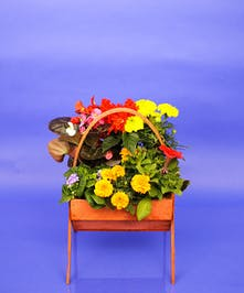 Cemetery Basket 10 inch - Same Day Delivery, Danvers, MA