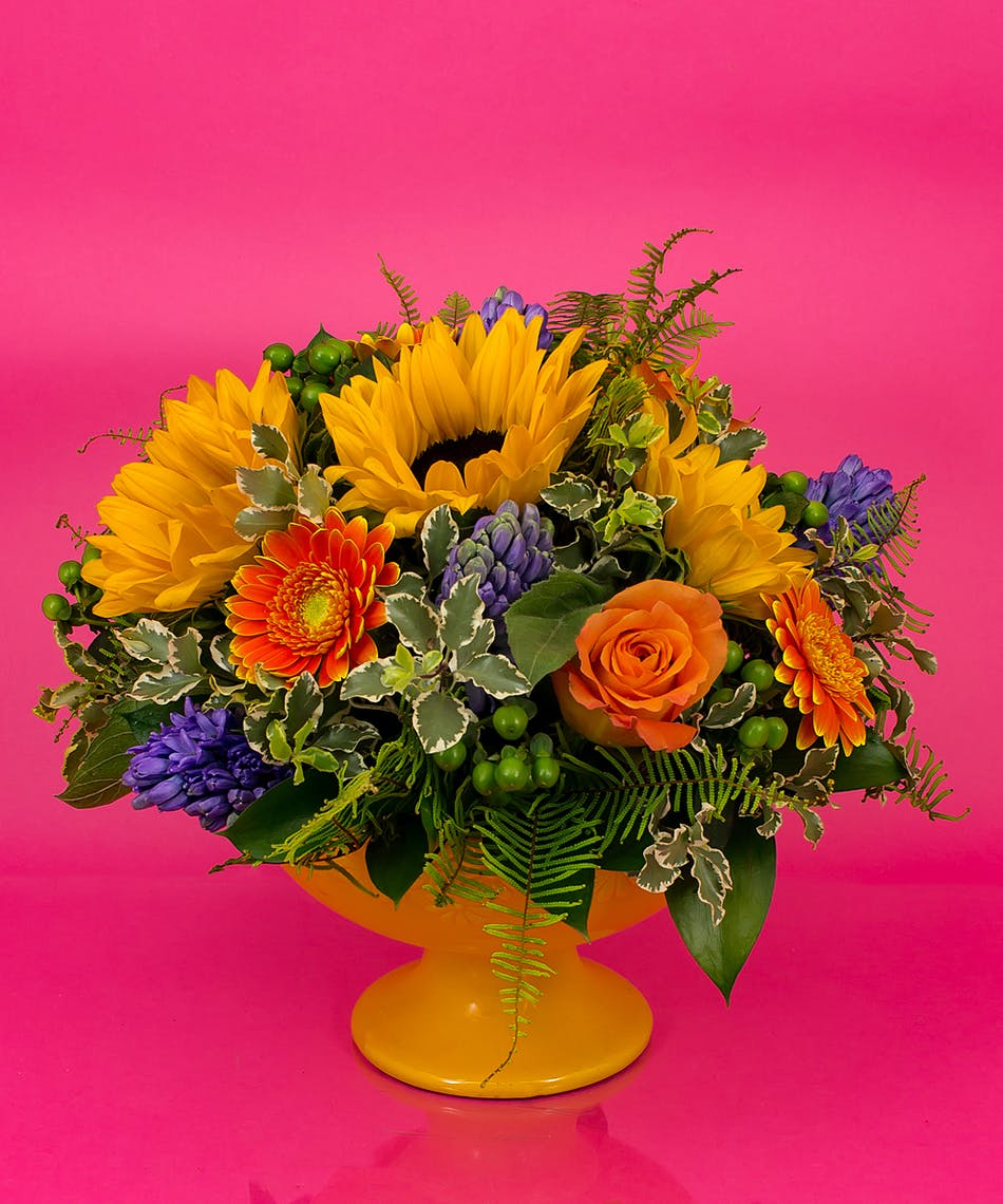 Bright spring centerpiece same day delivery danvers ma currans bright spring centerpiece same day delivery danvers ma mightylinksfo