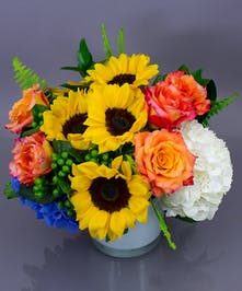 Floral Embrace - Sunflowers, Roses & Hydrangea Danvers, MA
