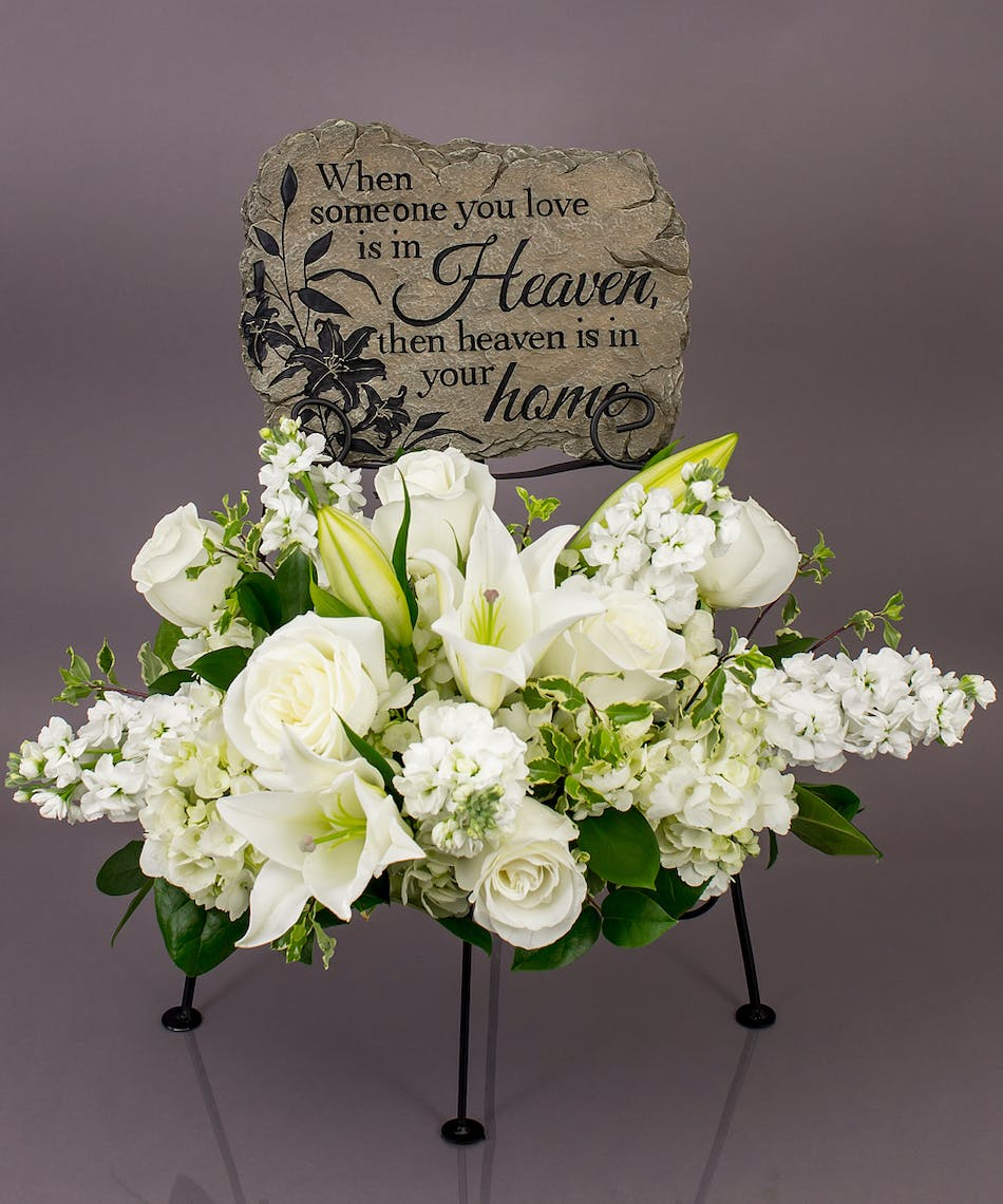 Heaven In The Home Memorial Display Currans Flower Same Day