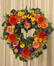 Vibrant Open Heart Sympathy Arrangement Delivery Danvers
