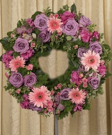 Soft Colored Wreath