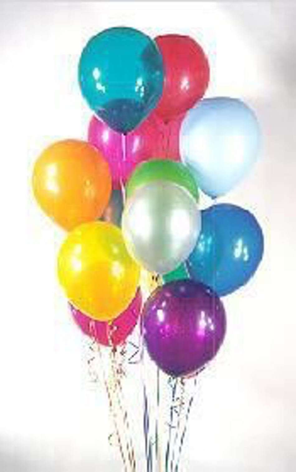 Birthday Cake Balloon Delivery