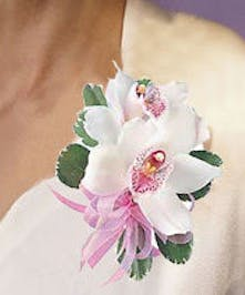 Cymbidium Orchid Corsage - Same-day Delivery Danvers, MA