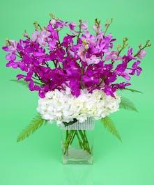 Orchid Sparkle Vase
