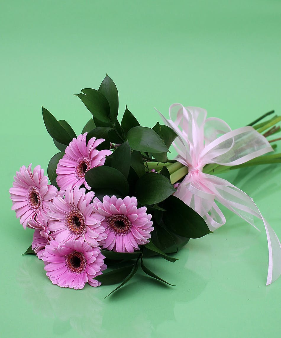 Gerbera Daisy Presentation Bouquet Same Day Delivery Danvers Ma
