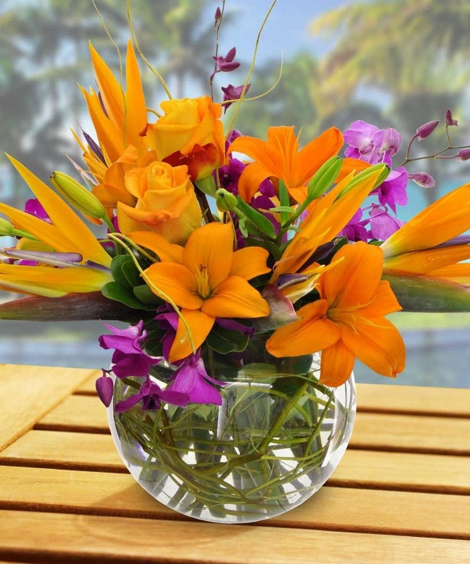 Tropical flower bouquet danvers ma same day delivery by currans tropical flower bouquet danvers ma same day delivery by currans flowers izmirmasajfo