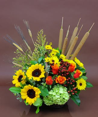 Autumn Traditions Basket