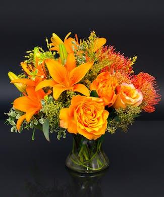 Autumn Euro Vase
