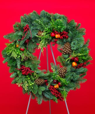 Royal Fruit Evergreen Wreath