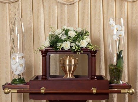 Memorial - White Urn Arc